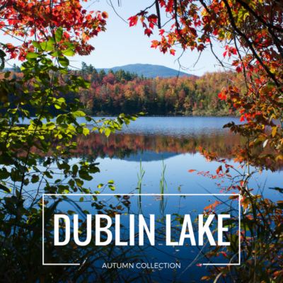 {Limited Edition}<br>Autumn Collection: Mount Monadnock at Dublin Lake<br>5×7